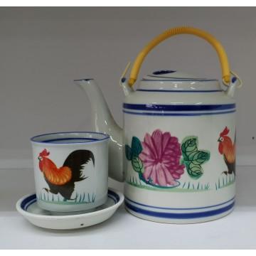 [Rooster] Tea Set